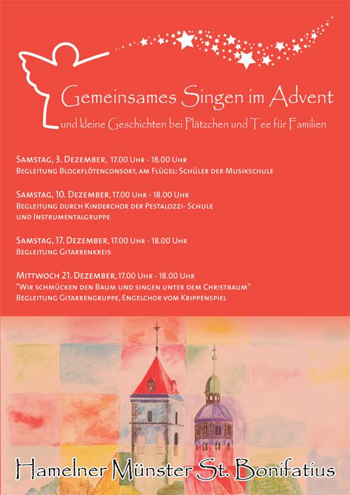 Offenes Singen In Der Adventszeit Im Münster